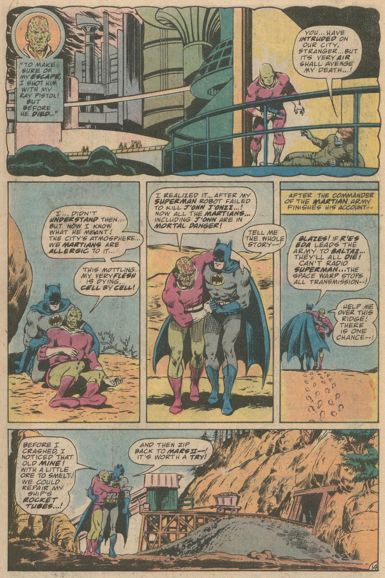 Read online World's Finest Comics comic -  Issue #245 - 16