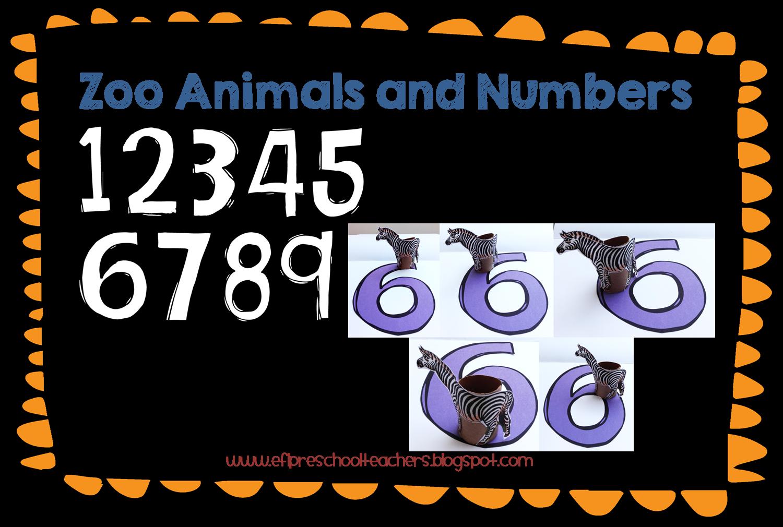 Esl Efl Preschool Teachers Zoo Animal Theme For The