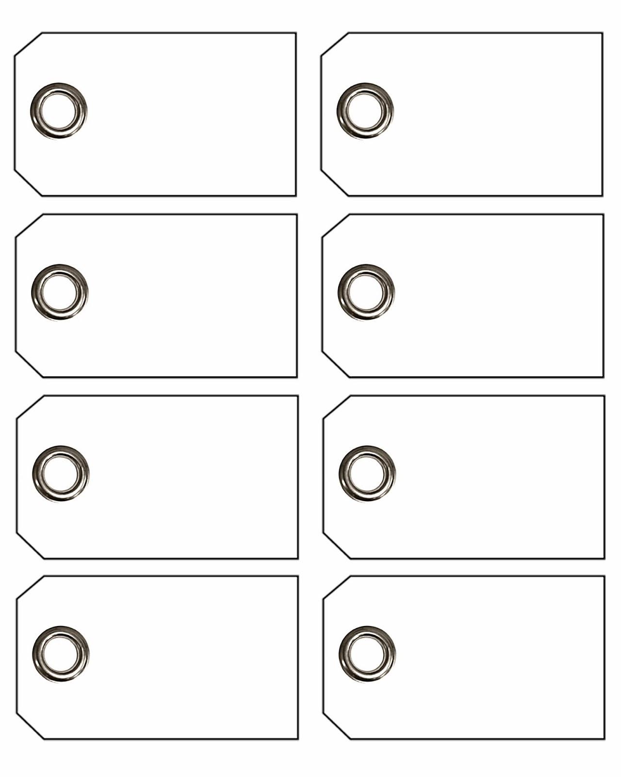 tags printable