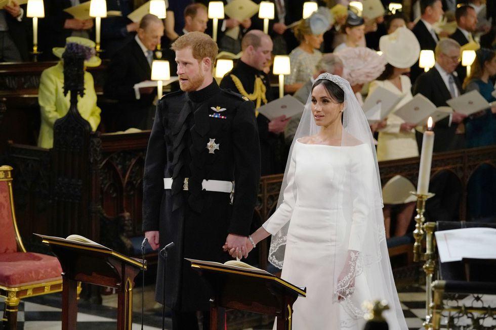 "The song ""Guide Me, O Thy Great Redeemer"" was sung both in Harry and Meghan's wedding and Lady Diana's funeral, and was another nod to Harry's mother."