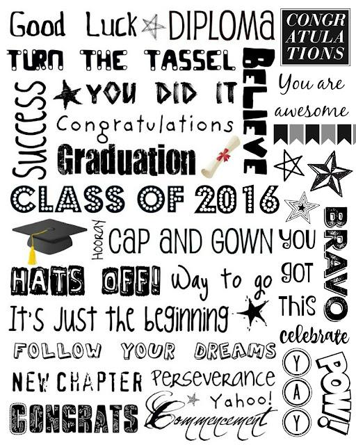 Graduation Subway Art 2016