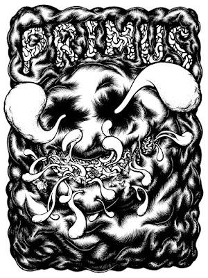 Primus Cincinnati Taft Theatre Poster line art drawing