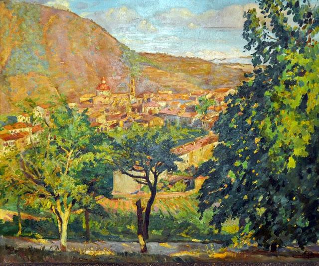 Alberto Rafols Culleres, Paisajistas españoles del siglo XX y XIX, Pintores españoles, Alberto Bescós Corral