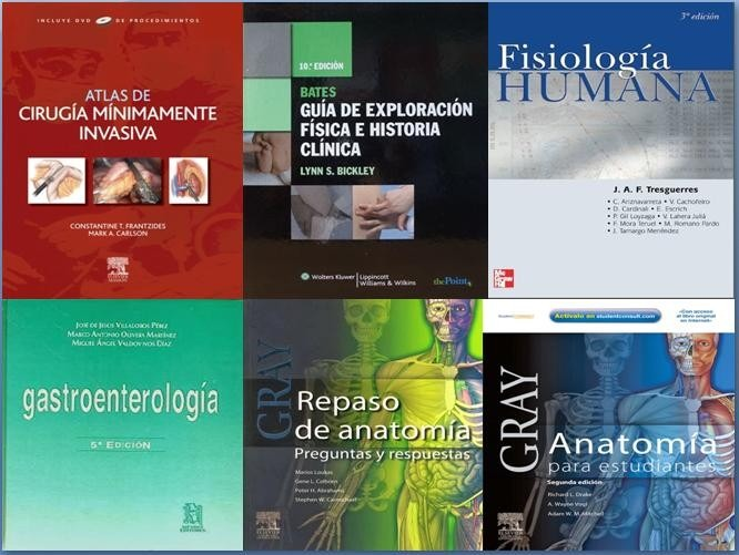 Coleccion De Libros De Medicina Descarga Gratuita