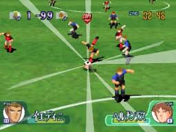 Download Captain Tsubasa PS1 ISO