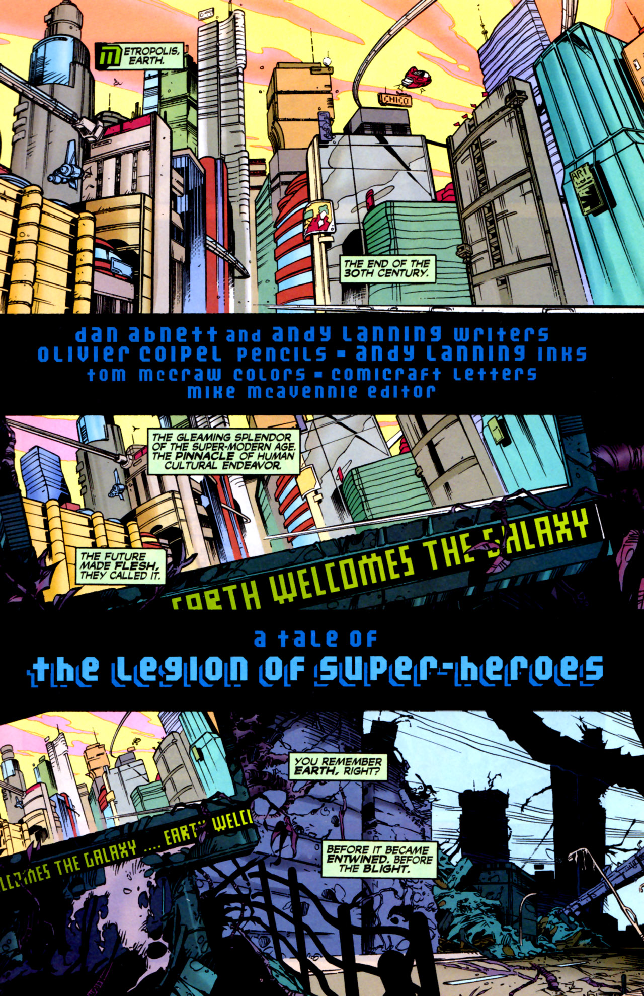 Legion of Super-Heroes (1989) 122 Page 1