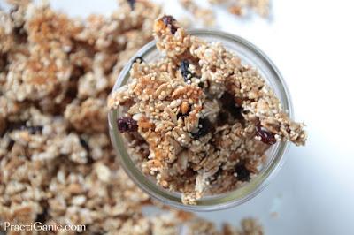 Easy Coconut Quinoa Granola Clusters
