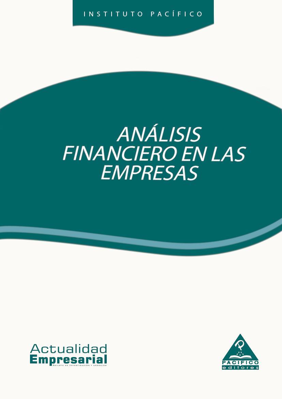 Análisis financiero en las empresas