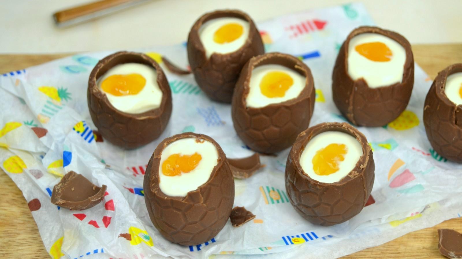 Resultat d'imatges de cocinar huevos de pascua niños
