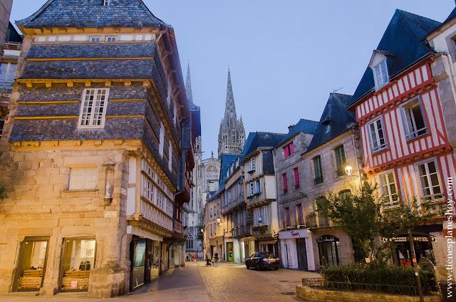 Diario Viaje Bretaña y Normandia días Quimper