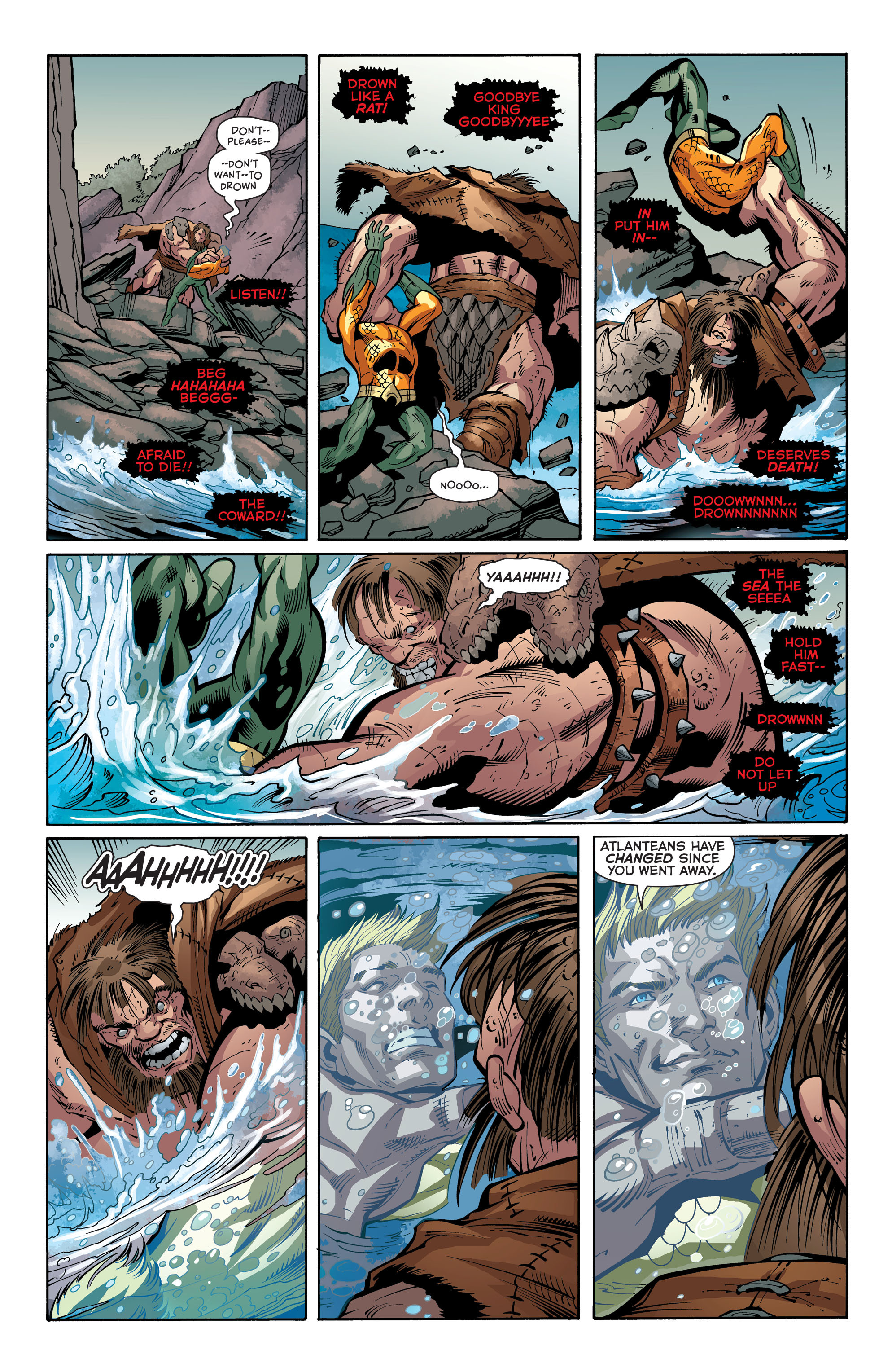 Read online Aquaman (2011) comic -  Issue #30 - 14