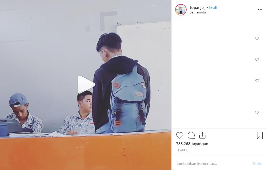 Anak SMA Nyanyi Tentang Rindu