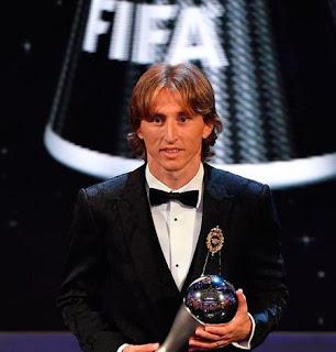 Modric ends Ronaldo-Messi hold on Ballon d'Or