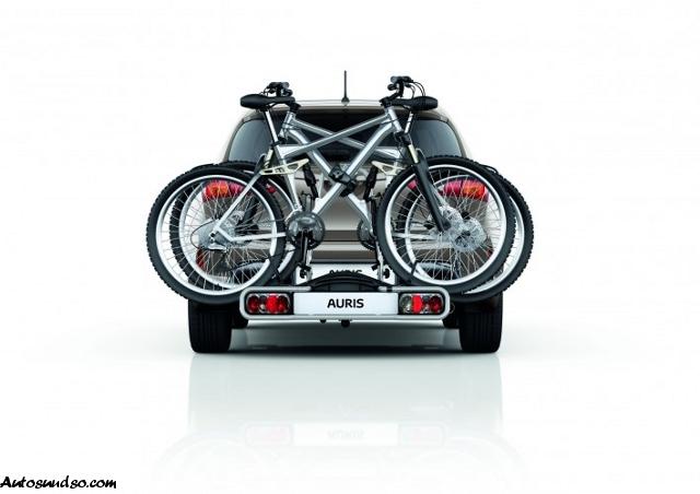 Fahrradträger für neuen Toyota Auris