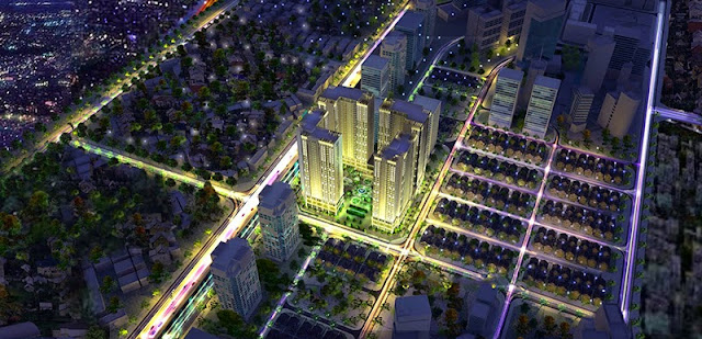 Phối cảnh dự án chung cư Eco Green City Nguyễn Xiển