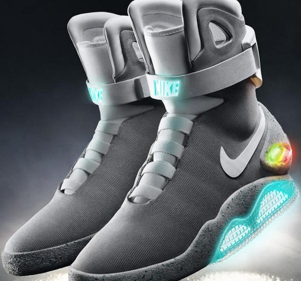 Nike confirma que venderá los zapatos de Volver al Futuro II
