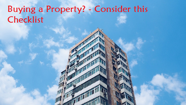 checklist Buying a Property