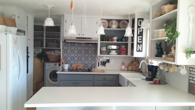 1960's kitchen makeover