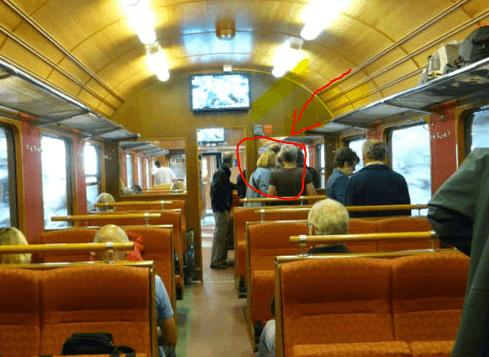 احذر عند ركوبك القطار قد يحدث لك مثل ماحدث لهذه العائلة