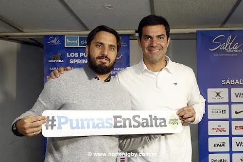 Presentación oficial de Los Pumas - Sudáfrica en Salta