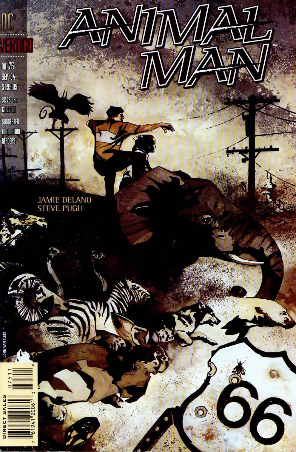 Animal Man (1988) 75 Page 1