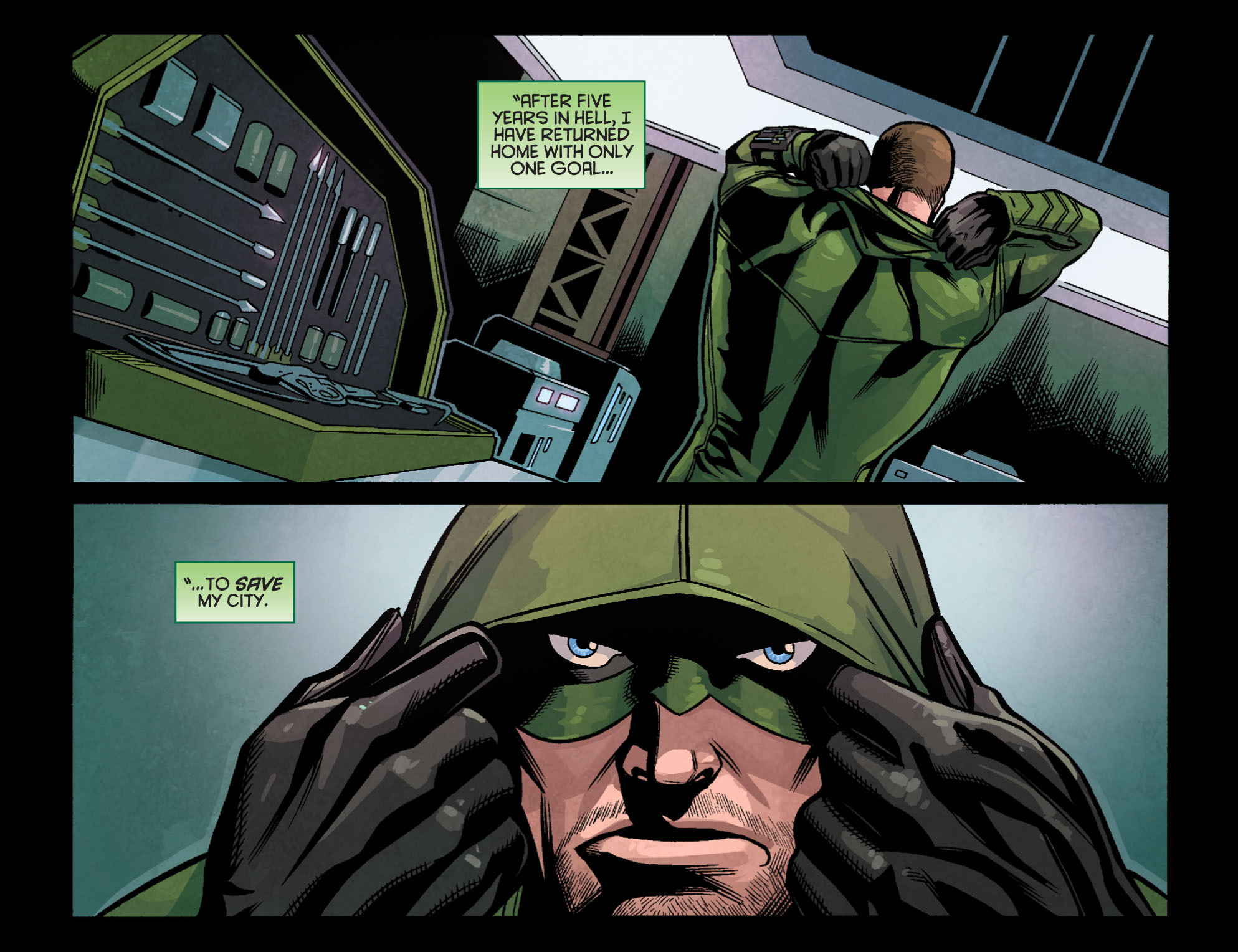 Read online Arrow: Season 2.5 [I] comic -  Issue #24 - 19