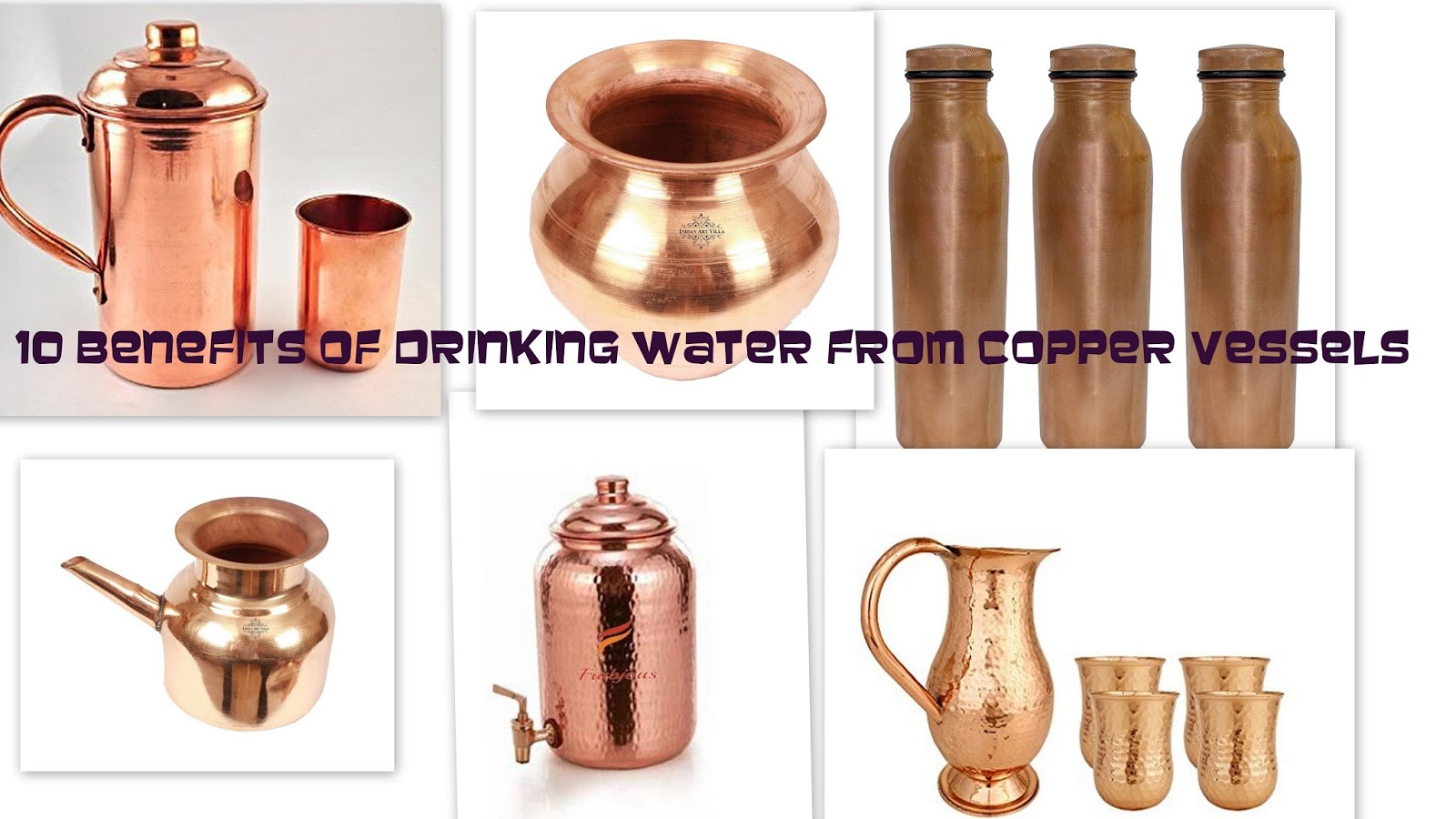 Correct Way To Drink Water From Copper Vessel