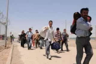 UN migration agency says Over 700,000 Afghans citizens have returned from Iran this year as the Iranian economy tightens, with a knock-on effect on the Afghan economy.