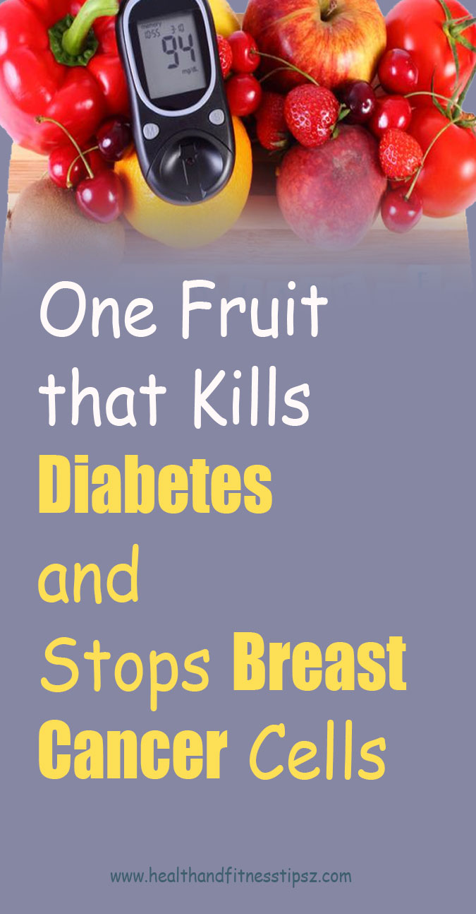 Fruit that Kills Diabetes