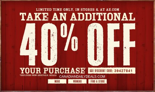 graphic regarding American Eagle Coupons Printable named American eagle coupon codes 20 off your full obtain - Papa johns