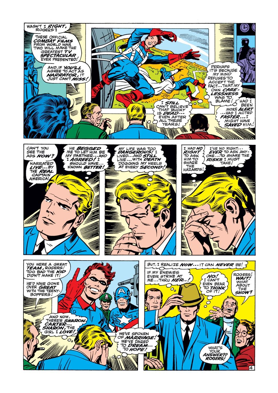 Read online Captain America (1968) comic -  Issue #105 - 5