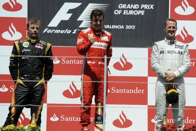 Fernando Alonso ganó de local en Valencia