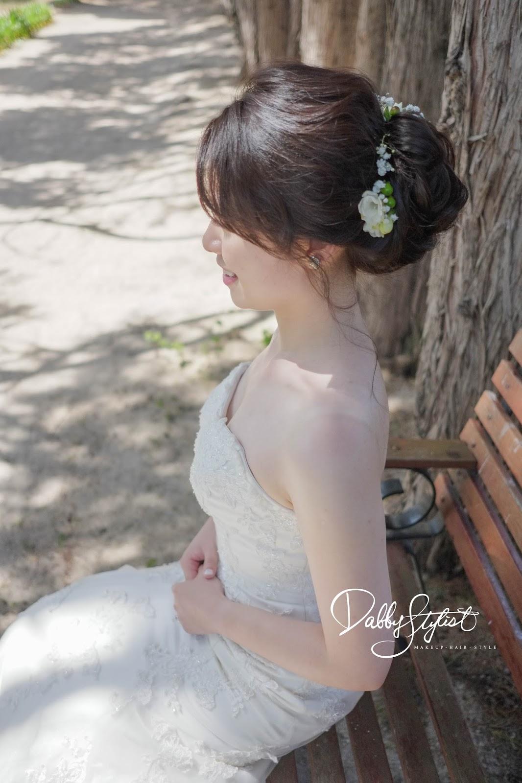戶外婚禮, 台中新秘, 婚宴造型, 婚禮現場, 婚禮造型, 新娘秘書, 新娘髮型, 新秘阿桂Dabby, 新秘推薦, 澳洲墨爾本,