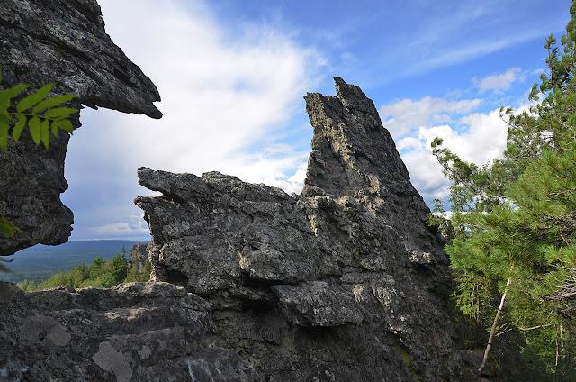 Вид с горы Колпаки