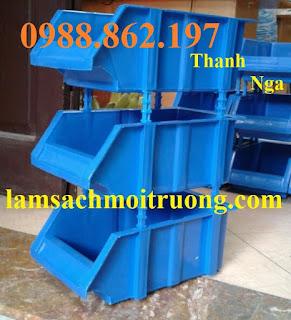 www.123nhanh.com: khay nhựa xếp chồng giá rẻ, kệ dụng cụ A2, thùng nhựa xế