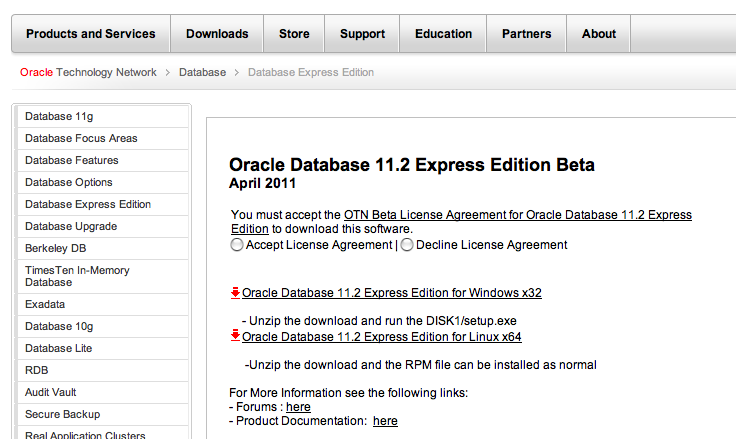 How to install oracle database 10g express edition || windows.