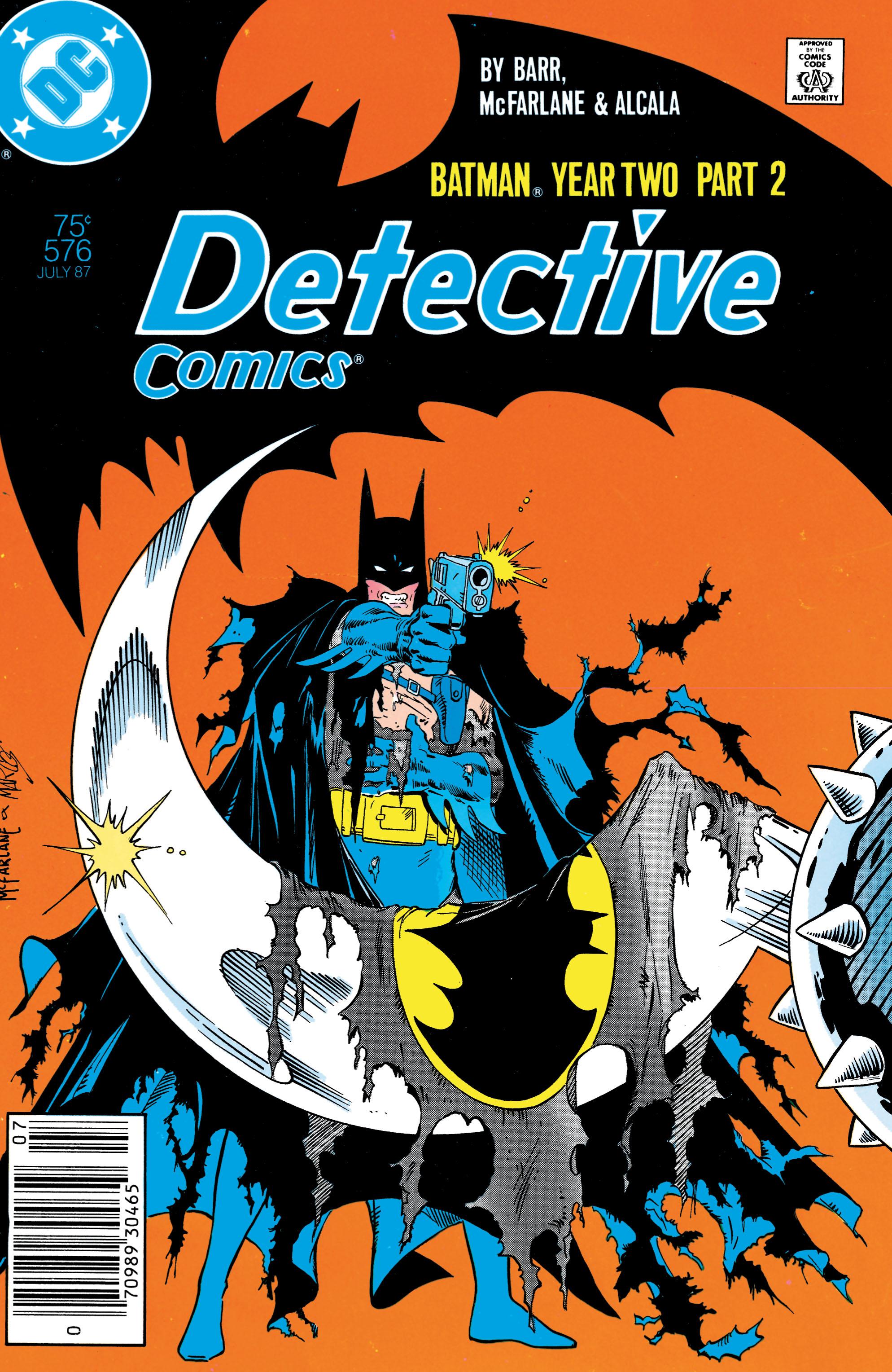 Detective Comics (1937) 576 Page 1