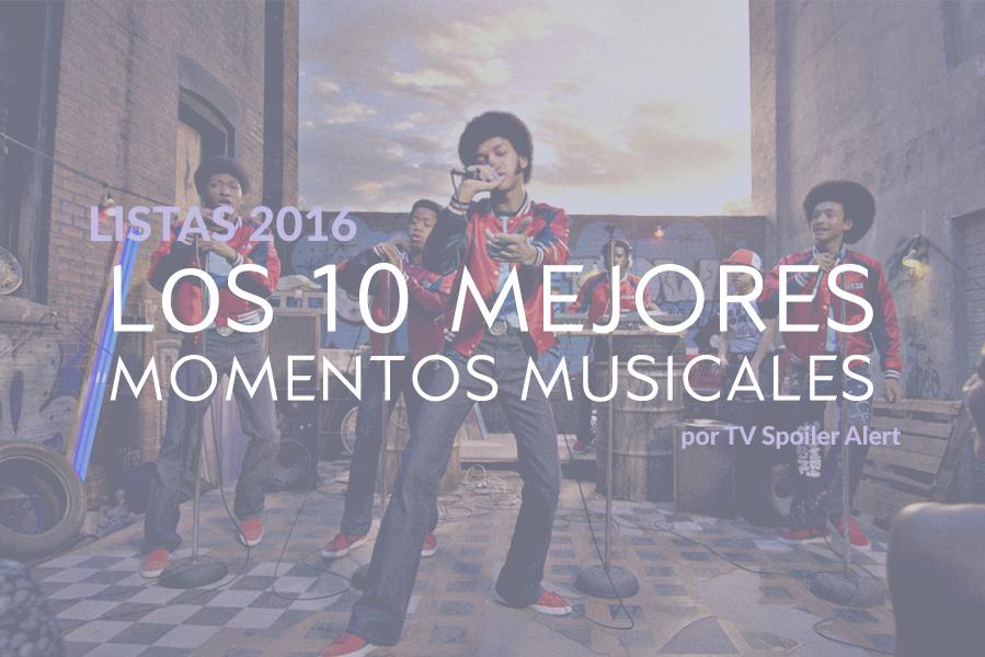 Los 10 mejores momentos musicales de las series de TV de 2016