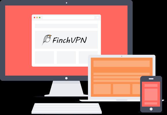finchvpn  يمكنك من الحصول على VPN مجاني ولايسجل النشاطات  LOGs
