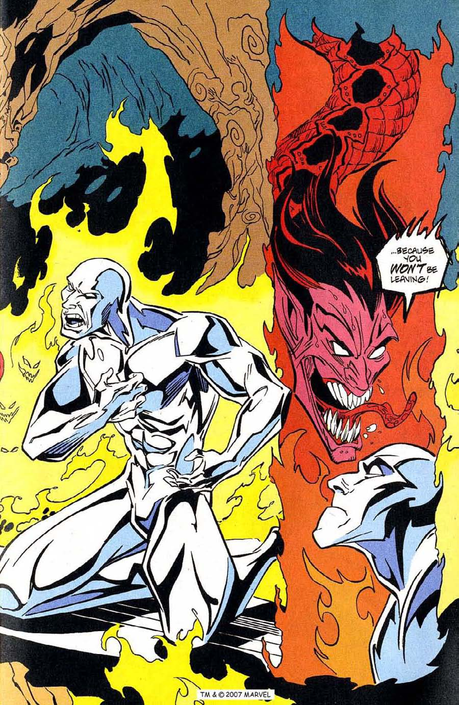 Read online Silver Surfer (1987) comic -  Issue #100 - 15