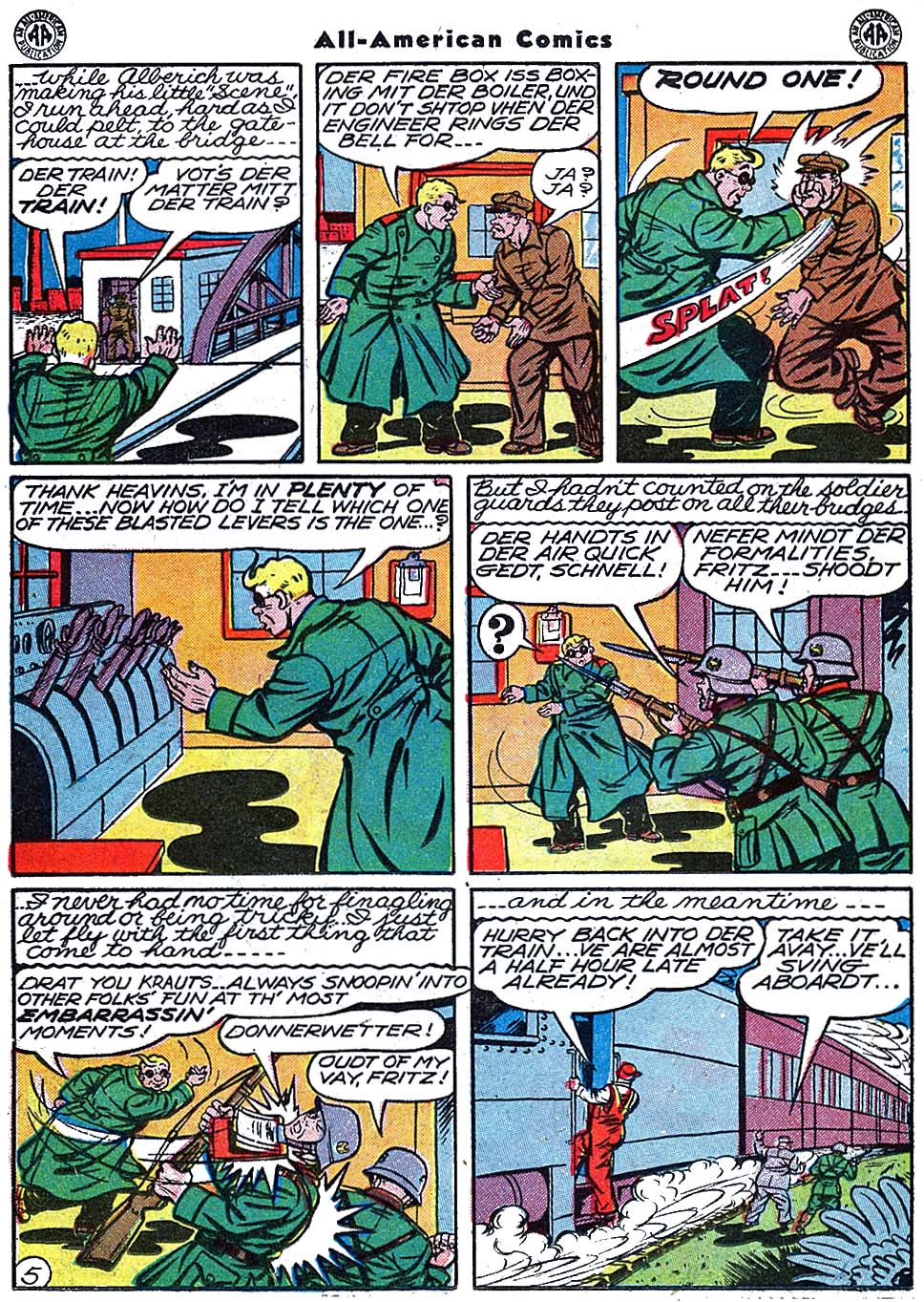 Read online All-American Comics (1939) comic -  Issue #67 - 30