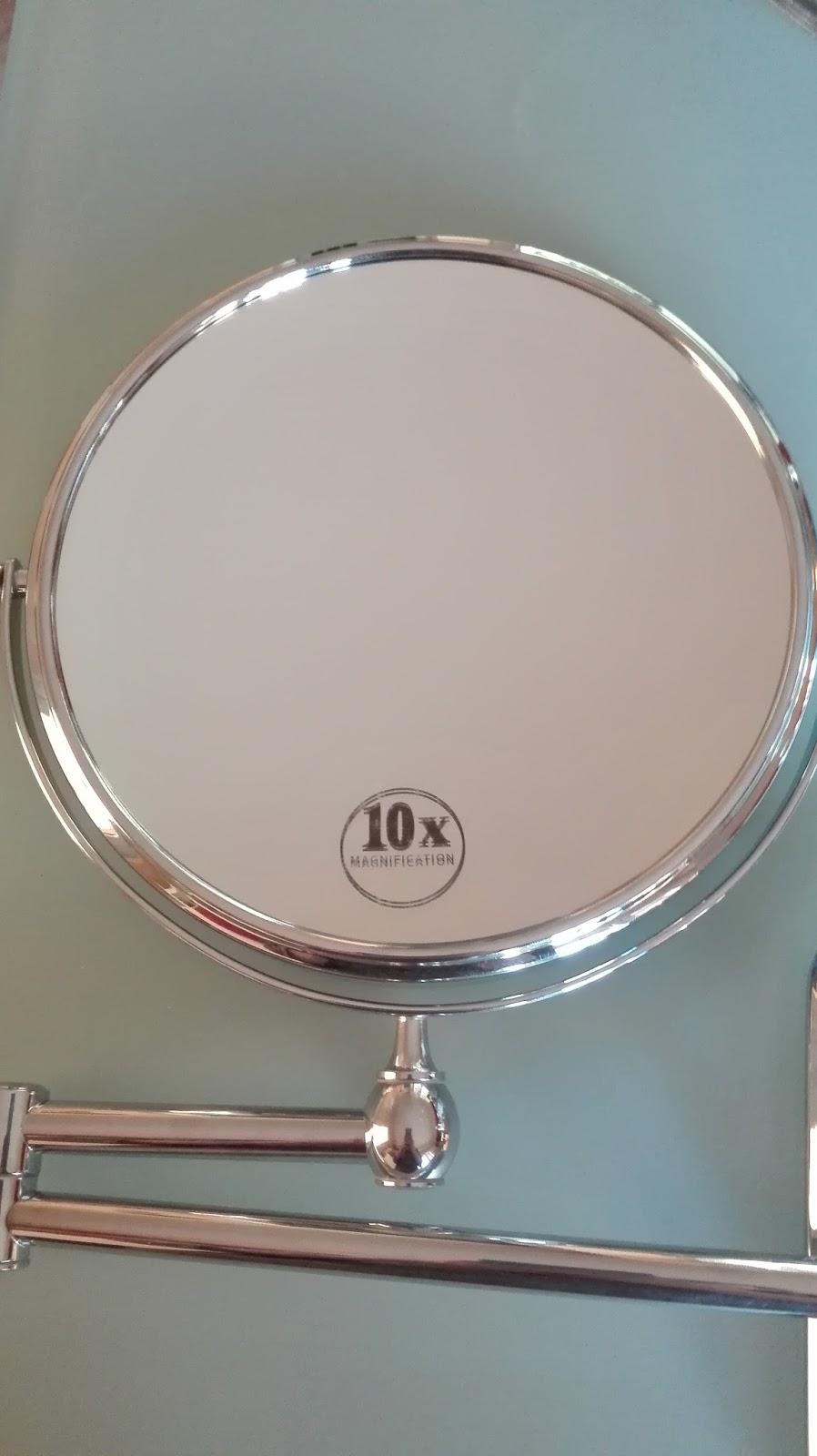 Recensione omaggi specchio cromato con 2 lenti di - Specchio ingrandimento ...