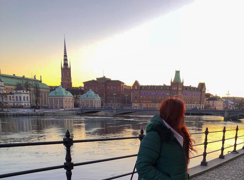 Não é Berlim, é Estocolmo!