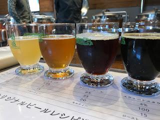 オリジナルビールレシピ選び (常陸野ネストビール作り体験)