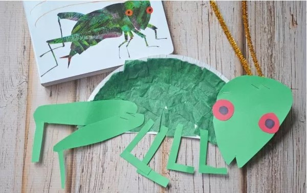 Paper Cricket Craft For Kid Favorite Children's