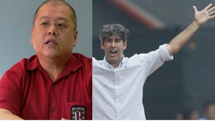 Bos Bali United, Akui Ada Komunikasi Yang Inten Dengan Mantan Pelatih Persija