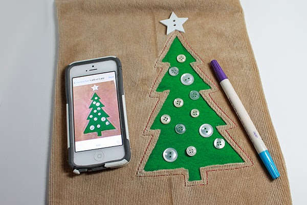 Christmas tree pillow/cushion tutorial | The Inspired Wren