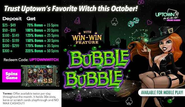 Daily Bonus Offer from Uptown Aces