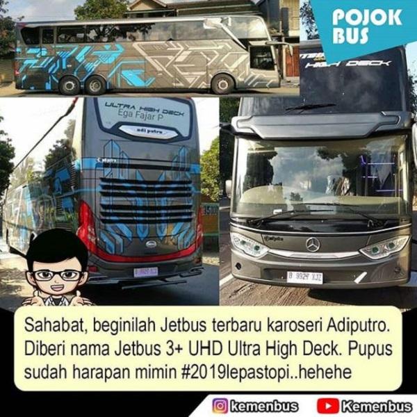 Jetbus 3+ UHD Adiputro