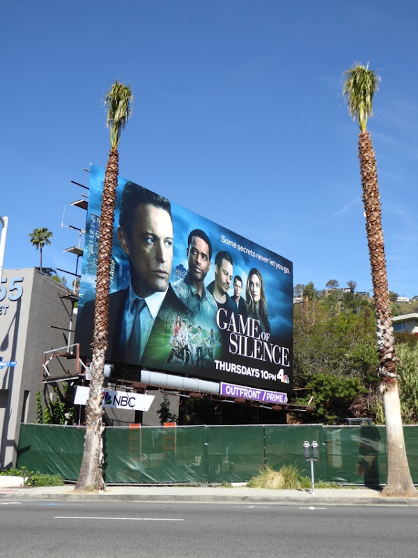 Game of Silence TV series billboard